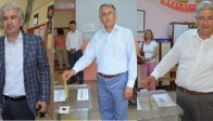 Akhisar'da Siyasi Parti Temsilcileri Oylarını Kullandı