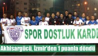 Akhisargücü, İzmir'den 1 Puanla Döndü