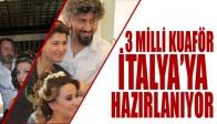 Akhisarlı 3 Milli Kuaför İtalya'ya Hazırlanıyor