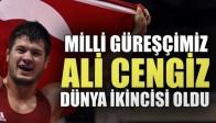 Akhisarlı Ali Cengiz, Dünya 2.si oldu
