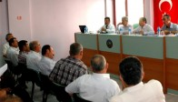 Akhisarlı Muhtarları Bilgilendirme Toplantısı Yapıldı