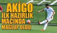 Akhisarspor İlk Hazırlık Maçında Mağlubiyet Aldı
