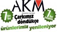 AKM'de Alışveriş Çarkı Dönüyor