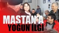 Alaşehir'de Zerrin Mastan'a Yoğun İlgi