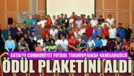Antalya Cumhuriyet Futbol Turnuvasında Akhisargücü Ödül Plaketini Aldı