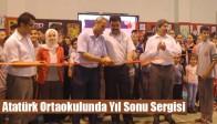 Atatürk Ortaokulunda Yıl Sonu Sergisi