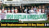 ATD Akhisargücü, İzmir Deplasmanından Eli Boş Döndü 3-0
