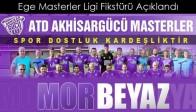 ATD Akhisargücü Masterler Futbol Takımının Ligdeki Rakipleri Belli oldu