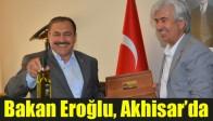 Bakan Eroğlu, Başkan Hızlı'yı Ziyaret Etti