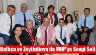 Ballıca ve Zeytinliova'da MHP'ye Sevgi Seli