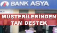 Bank Asya'ya Müşterilerinden Tam Destek