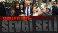 Başkan Ergün'e Sevgi Seli