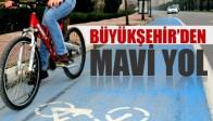 Bisikletlere 'Mavi Yol' Uygulaması
