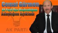 Cemal Gürmen, AK Parti İlçe Başkanlığına Adaylığını Açıkladı
