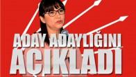 CHP'de Zerrin Mastan Aday Adaylığını Açıkladı