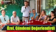 CHP Grup Başkan Vekili Özel, Gündemi Değerlendirdi