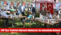 CHP İlçe Teşkilatı Akhisarlı Muhtarlar ile Kahvaltıda Buluştu