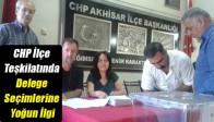 CHP İlçe Teşkilatında Delege Seçimlerine Yoğun İlgi