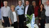 CHP İlçe Teşkilatından Yeni İlçe Emniyet Müdürüne Ziyaret