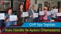 CHP, Kuru Gürültü İle Ayıbını Örtemezsiniz