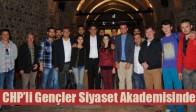 CHP'li Gençler Siyaset Akademisinde