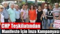 CHP Teşkilatından Manifesto İçin İmza Kampanyası