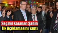 CHP'de Seçimi Kazanan Şahin İlk Açıklamasını Yaptı