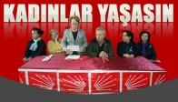 CHP'den Kadına Yönelik Şiddete Yönelik Basın Açıklaması