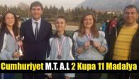 Cumhuriyet M.T. A.L 2 Kupa 11 Madalya