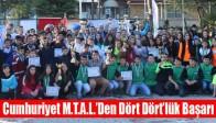 Cumhuriyet M.T.A.L.'Den Dört Dört'lük Başarı