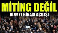 Demirci'de Miting Gibi Açılış