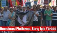 Demokrasi Platformu, Barış İçin Yürüdü