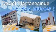 Devlet Hastanesinde Ücretsiz İnternet
