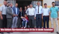 """""""Din Kültürü Öğretmenlerinden 81 İle 81 Akülü Sandalye"""""""
