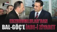Erzurumlular Derneği Bal-Göç Derneğine İadei Ziyarette Bulundu