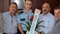 Erzurumlular Derneği Emniyet Müdürü Engin Pınar'ı Ziyaret Etti