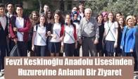 Fevzi Keskinoğlu Anadolu Lisesinden Huzurevine Anlamlı Bir Ziyaret