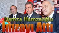 Galatasaray'ın Yeni Teknik Direktörü Hamza Hamzaoğlu İmzayı Attı