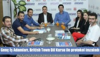Genç İş Adamları, British Town Dil Kursu ile protokol imzaladı