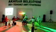 Goy Goy Grubu İlk Konserini Amfi Tiyatroya Verdi