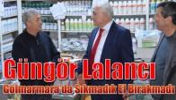 Güngör Lalancı Gölmarmara'da Sıkmadık El Bırakmadı