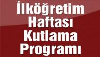İlköğretim Haftası Kutlama Programı
