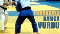 Judo Turnuvasına Damga Vurdu