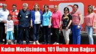 Kadın Meclisinden, 101 Ünite Kan Bağışı