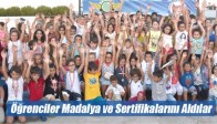 Karabulut Yüzme Kursu Öğrencileri Madalya ve Sertifikalarını Aldılar