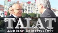 KKTC 2. Cumhurbaşkanı Talat'tan Akhisar Belediyesine Ziyaret