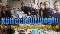Köfteci Gürlüoğlu Yerel Basınla Kahvaltıda Buluştu