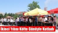 Macide-Ramiz Taşkınlar Fen Lisesi, İkinci Yılını Köfte Günüyle Kutladı