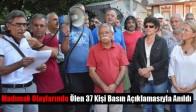 Madımak Olaylarında Ölen 37 Kişi Basın Açıklamasıyla Anıldı