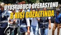 Manisa Polisinden Uyuşturucu Satıcılarına Operasyon